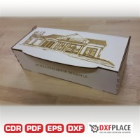 Wooden embalage free dxf